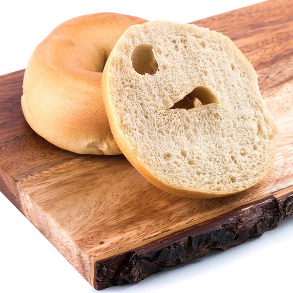 Great Low Carb 65 Calorie Plain Bagels 12oz Bag of 6