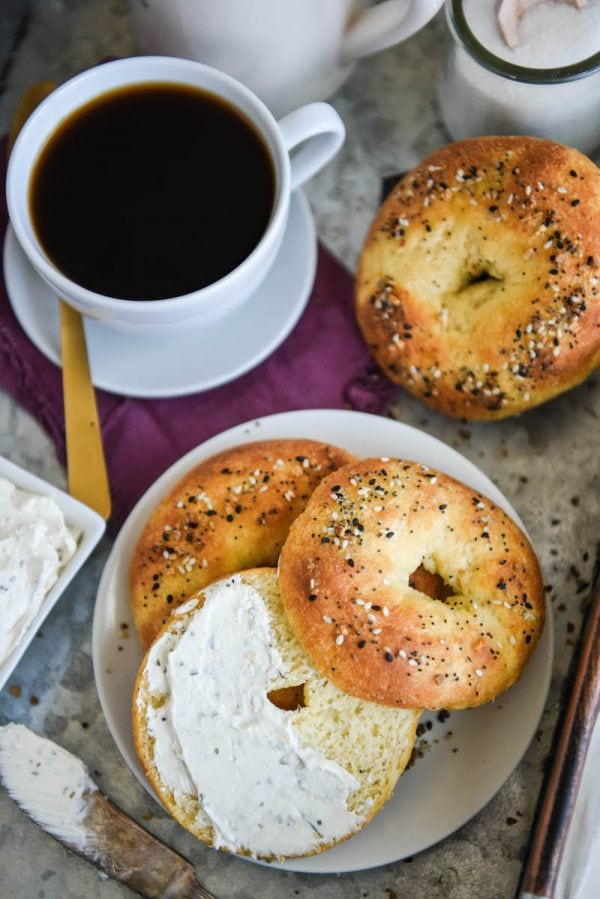 Great Low Carb 65 Calorie Everything Bagels 12oz Bag of 6