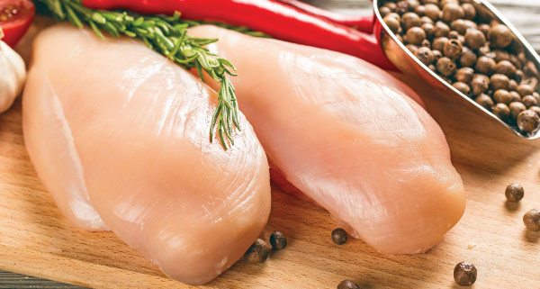 Air Chilled ABF Chicken Breast - Single Lobe -  1 lb - Non-GMO - Skinless/Boneless