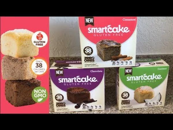 New SMART BAKING VARIETY PACK - Smartcakes & Smartbuns