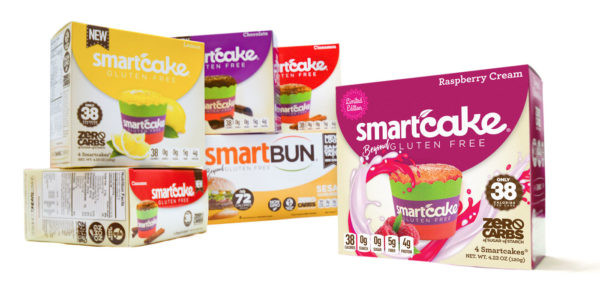 New SMART BAKING VARIETY PACK - Smartcakes & Smartbuns