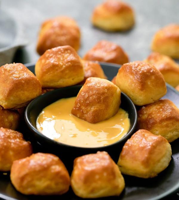 Soft Pretzel Bites (salted or unsalted) - (Low Carb / Keto)