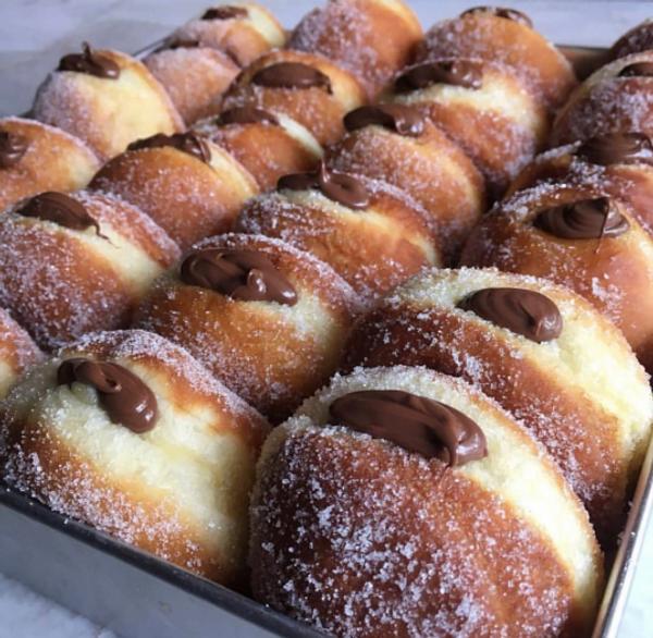 Nutella Bomboloni - Italian Doughnuts - 1 dozen