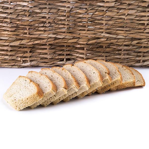 Great Low Carb Paleo Plain Bread 16oz Loaf - Gluten Free