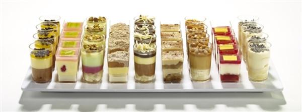 Assorted Dessert Shots - includes 63