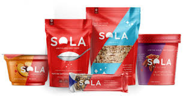 SOLA Granola, Bread & Nut Bar Variety Pack - 3 Flavors Available