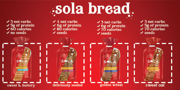 SOLA Sweet Oat Bread - 1 Loaf