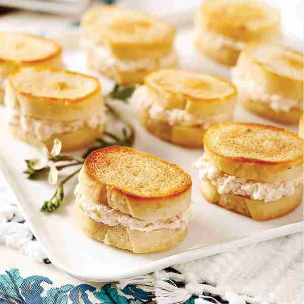 Mini Lobster Grilled Cheese Sandwiches - 18 pieces per tray