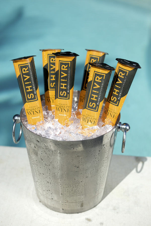 Mimosa - SH!VR Frozen Sparkling Wine Pops - Minimum of  6