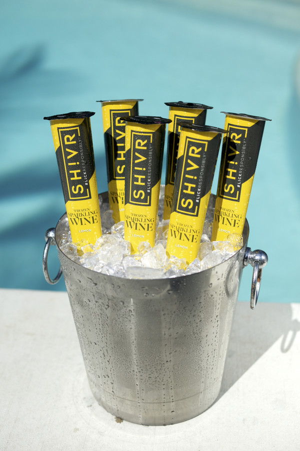 Lemon - SH!VR Frozen Sparkling Wine Pops - Minimum of  6