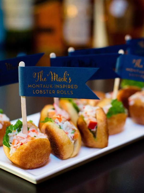 Mini Lobster Roll Bites - 18 pieces per tray