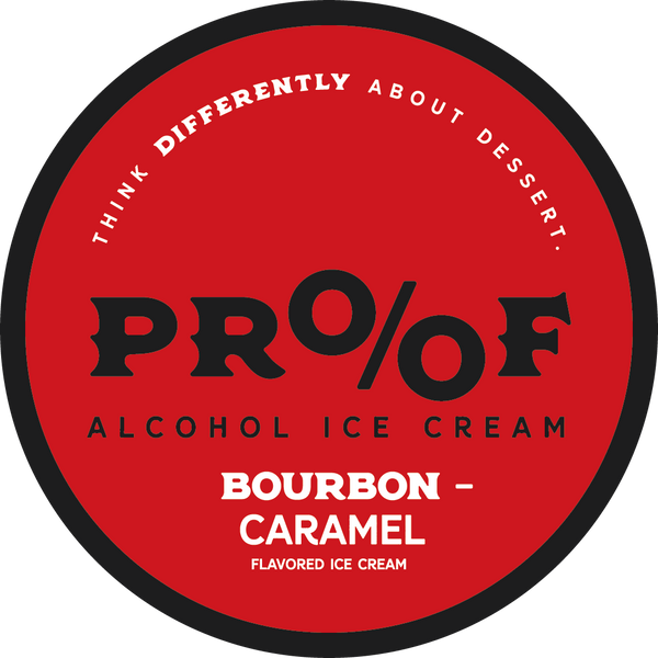 Bourbon Caramel Ice Cream - 6 Pack