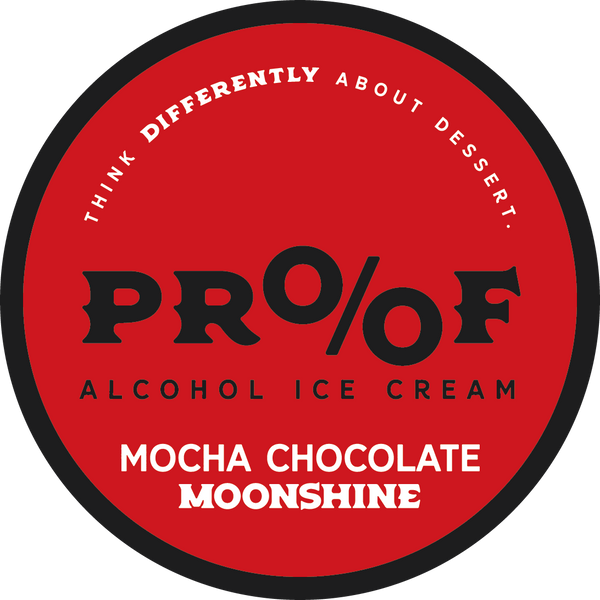 Mocha Chocolate Moonshine Ice Cream - 1 Pint - 6 Pack