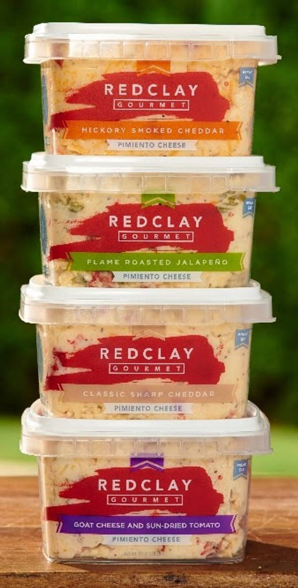 Pimento Cheese Snack Packs  - 4 Flavors - Red Clay Gourmet