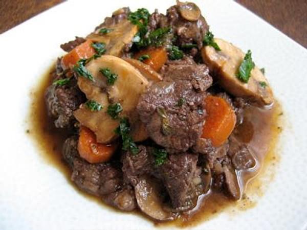 Beef Burgundy (GF)
