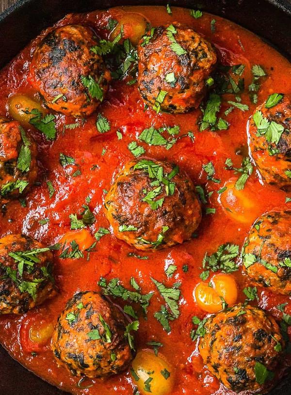 Turkey Meatball Marinara ( no egg recipe)
