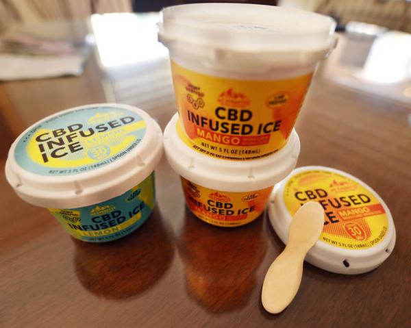 CBD Mango Ice - Italian Ice - 3, 6, 12 & Case of 36 Available