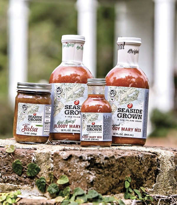 SEASIDE GROWN BLOODY MARY GIFT SET - 3 Pack w/ Rimmer Salt