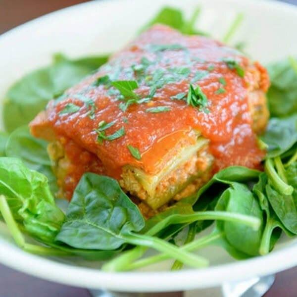Family Style Vegan Vegetable Lasagana ( Gluten Free) - Serves 6 to 8
