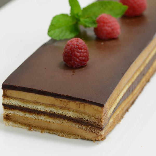 French Opera Cake - 1 strip cake - 24 oz
