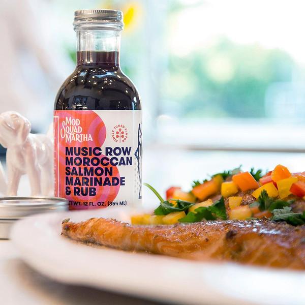Music Row Moroccan Salmon Marinade & Rub