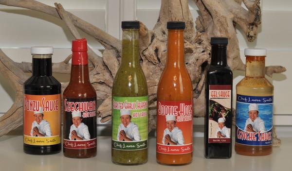 Roasted Garlic Jalapeno Hot Sauce - 12 oz