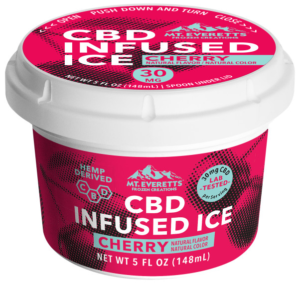 Variety Pack of CBD Italian Ice - 3, 6, 12 & Case of 36 Available
