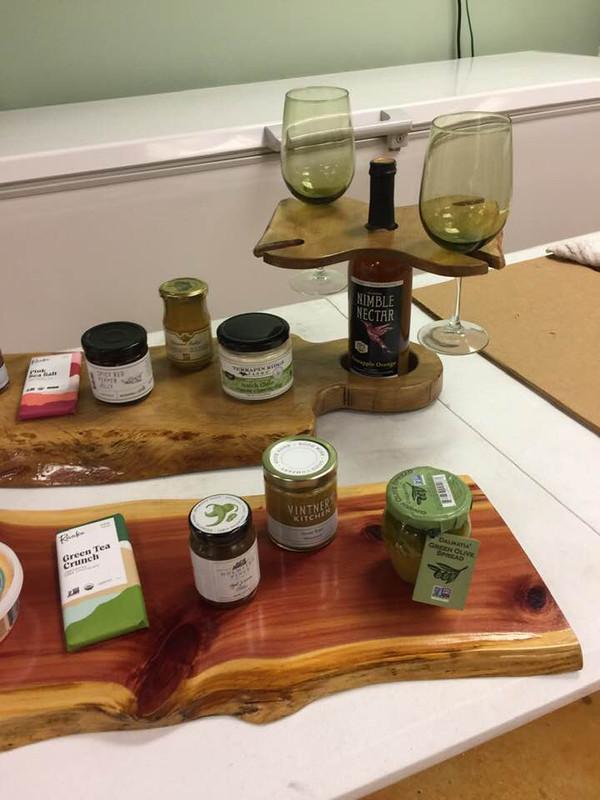 Charcuterie Board Solid Live-Edge Cutting Board - Cedar, Oak, Maple, Walnut - custom sizes