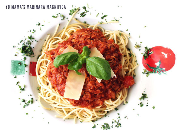 Keto Basil Pasta Sauce by Yo Mama's Foods  - No Sugar Added, Low Carb, Low Sodium, Gluten Free, Paleo Friendly, and Made with Whole, Non-GMO Tomatoes