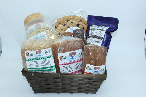 Organic Bread of Heaven Large Gift Basket