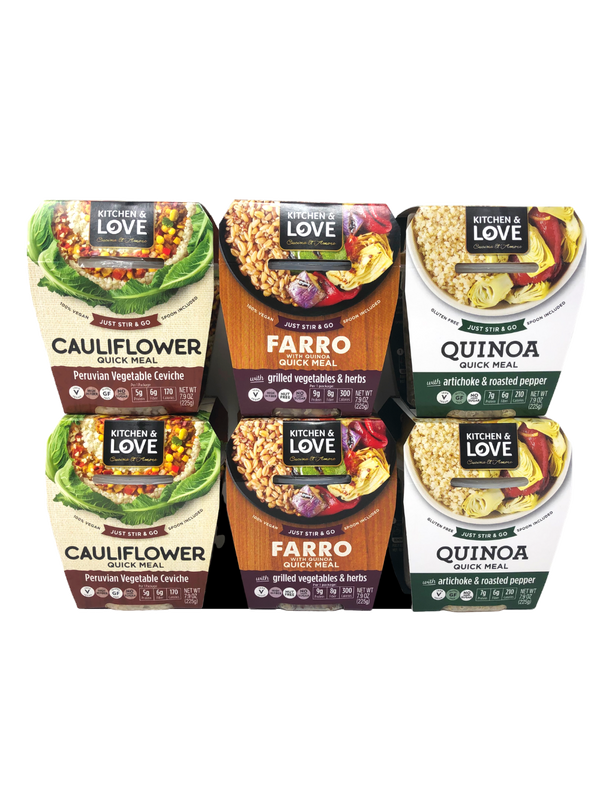 Best Sellers Meal Variety Pack - Cucina & Amore - 6 Pack
