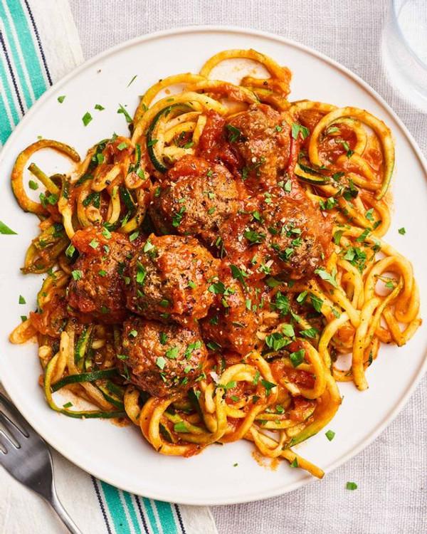 Organic Grass Fed Beef Meatballs - Sicilian Spice - Fifty Five Farmers