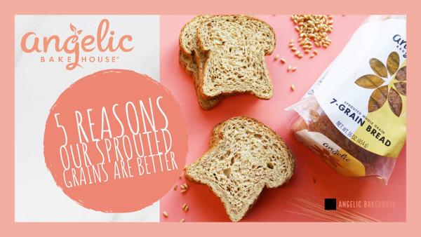 Sprouted 7-Grain Bread – 16 oz.
