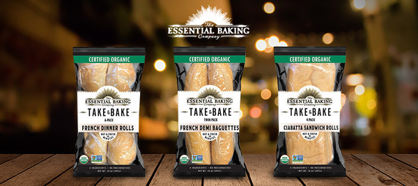 Take & Bake Ciabatta Sandwich Rolls - Essential Baking