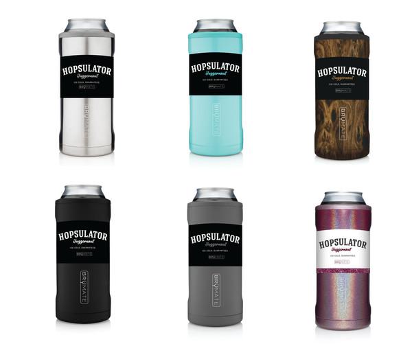 HOPSULATOR SLIM | GLITTER BLUSH (12OZ SLIM CANS)
