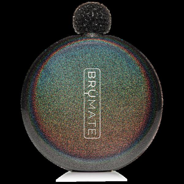 GLITTER FLASK | CHARCOAL