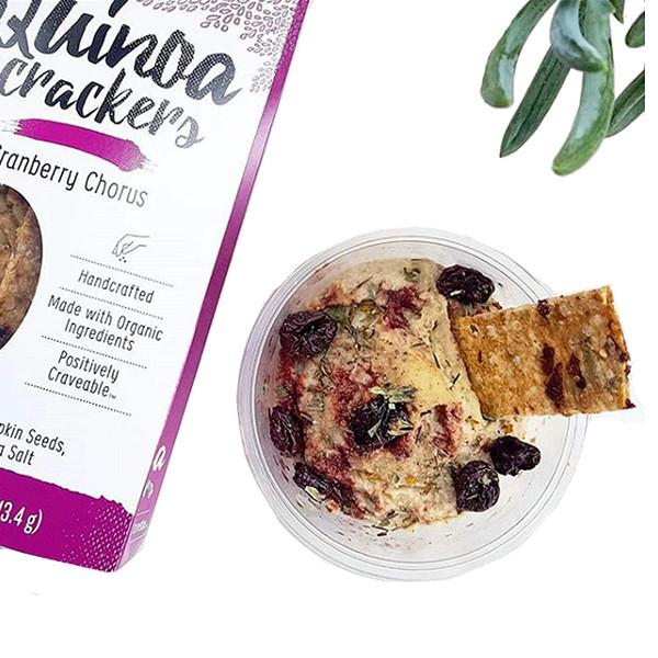 Organic Quinoa Crackers - Variety Pack - Pack of 4 - New Beat Foods