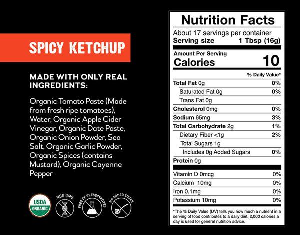 Good Food For Good Organic Ketchup & BBQ Combo - 4 Pack