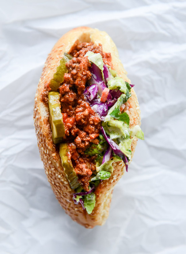 Smoky Sloppy Joes with Green Chiles