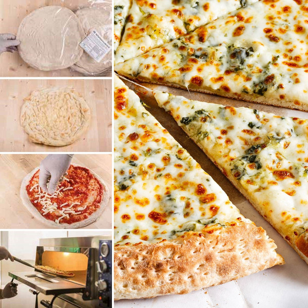 Gourmet White Cheese Pizza Kit - includes 5 pizzas to make