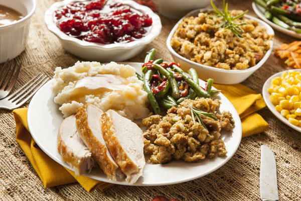 Thanksgiving Holiday Fully Cooked Feast