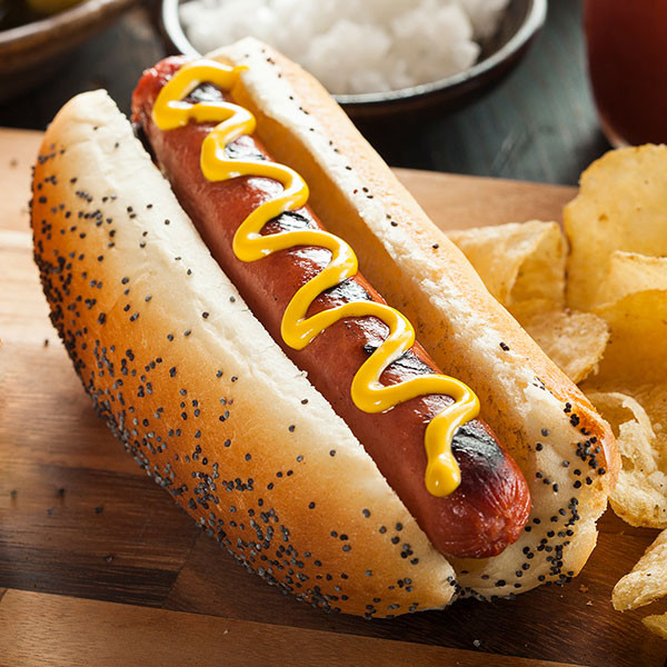 Elk Hot Dogs - includes 8