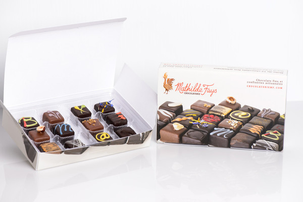 12 Piece Chocolate Taste Discovery Box
