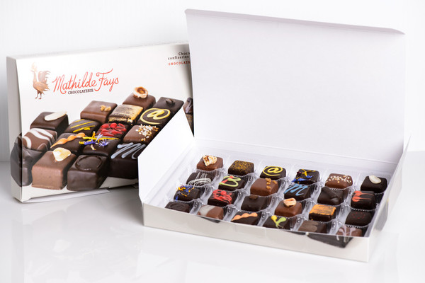 24 Piece Chocolate Taste Discovery Box