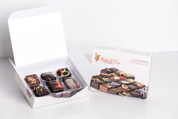 6 Piece Chocolate Taste Discovery Box