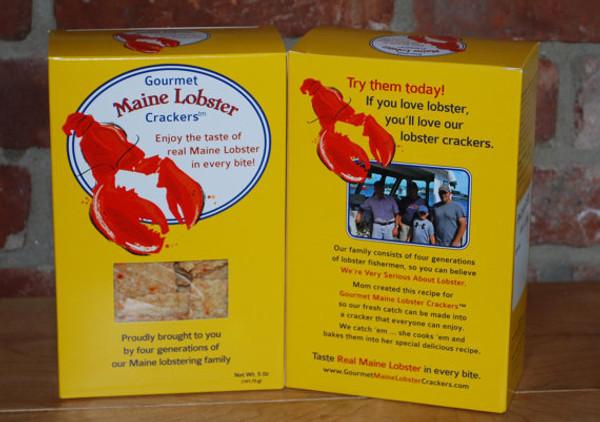 Gourmet Maine Lobster Crackers