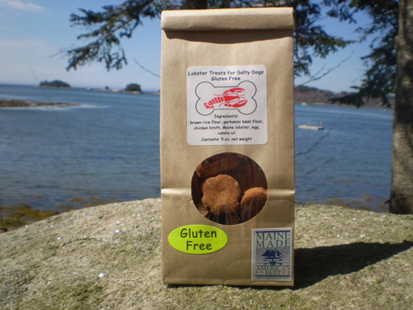 Gluten Free Lobster Treats for Salty Dogs 5 oz bag