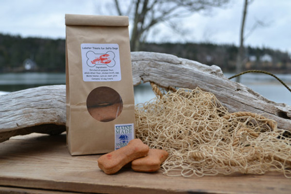 Lobster Treats for Salty Dogs Packs 12 Biscuits