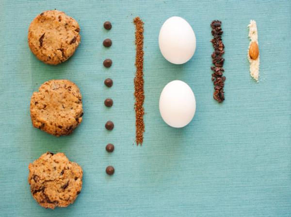 4 Bags of Nibblee Bits - Paleo, Gluten-Free, Grain-Free, Non-GMO, Vegan Chocolate Chip Cookie Mix