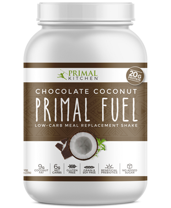 PRIMAL FUEL Weight Loss Shake - Chocolate Coconut or Vanilla Coconut
